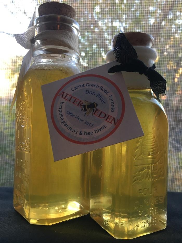 honey bottles x 2